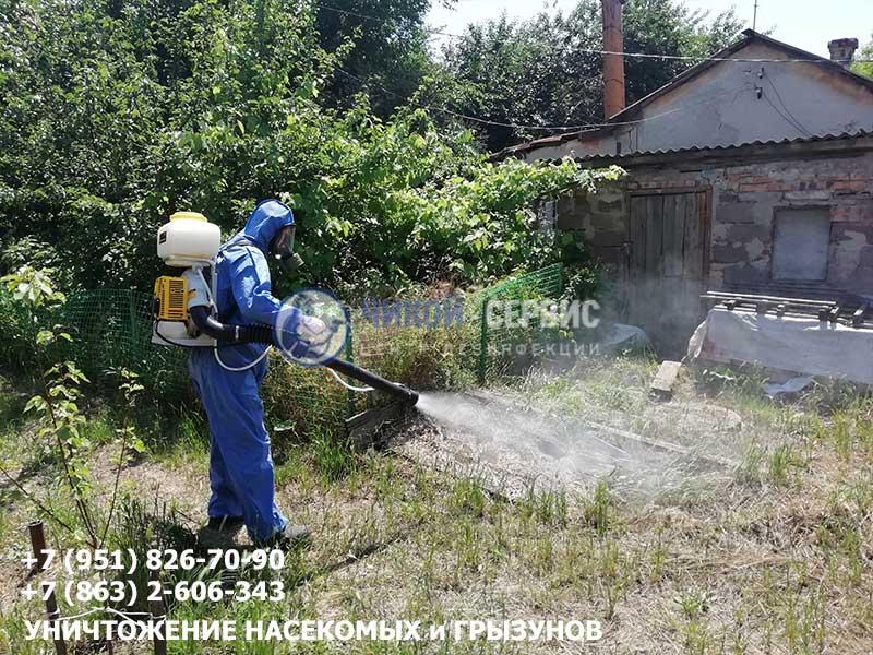 Обработка от комаров в Ростове от Чикой-Сервис