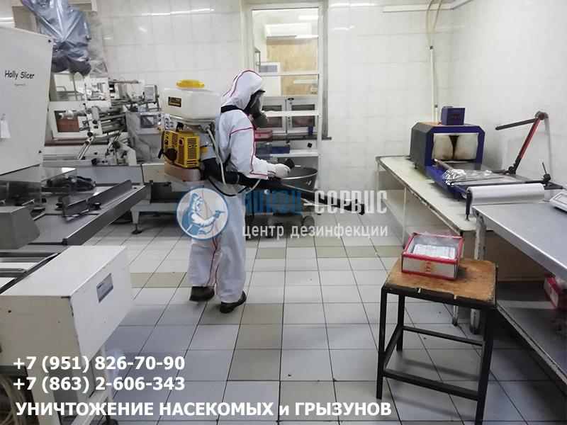 Уничтожение насекомых центром дезинфекции Чикой-Сервис