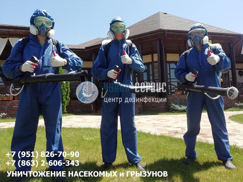 Дезинсекция в Новочеркасске от Чикой-Сервис