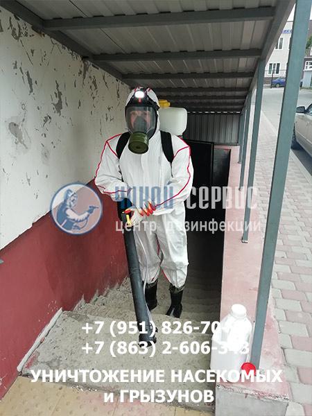 Обработка блох в Батайске - фото Чикой-Сервис