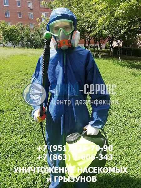 Акарицидная обработка против клещей в Азове - изображение Чикой-Сервис