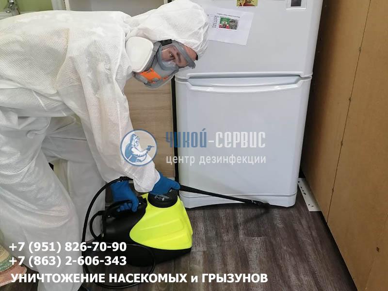 Дезинфекция от тараканов в Азове специалистами Чикой-Сервис