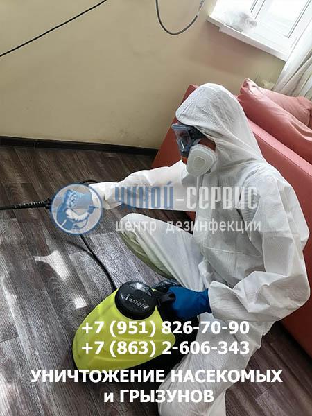 Дезинфекция в Белой Калитве - фото Чикой-Сервис
