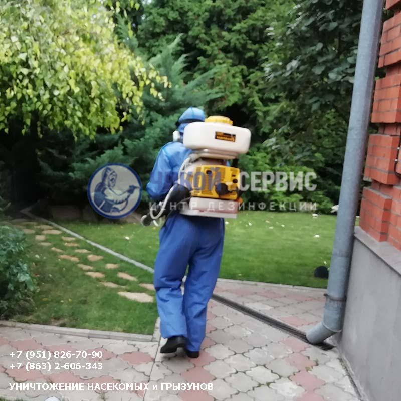 Эффективная обработка против клещей в Семикаракорске - фотография Чикой-Сервис