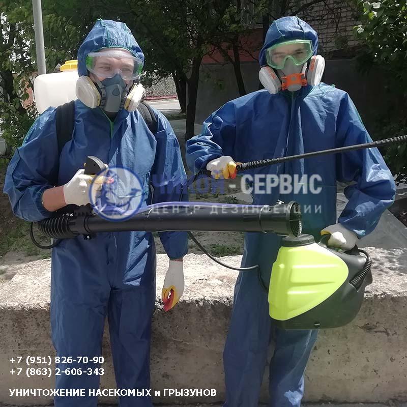 Фотография акарицидной обработки от клещей в Зернограде - Чикой-Сервис