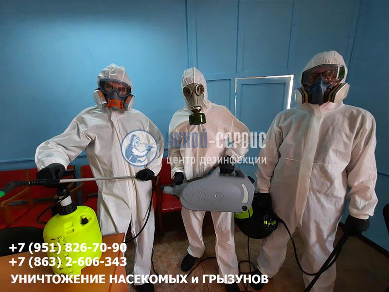 Профессиональная дезинфекция птицефабрики - фото Чикой-Сервис