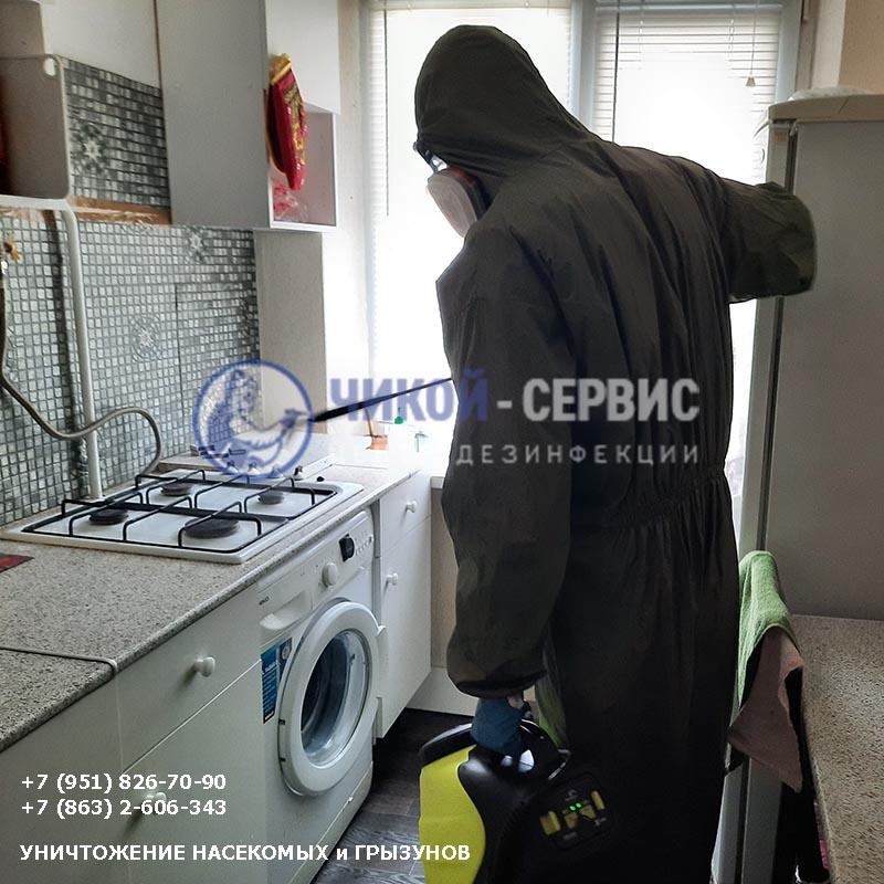 Фотография дезинфекции в Пролетарске от Чикой-Сервис